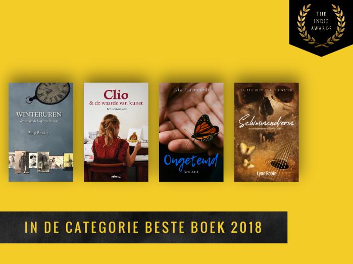Juryprijs Beste Boek 2018