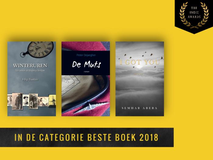 Shortlist beste boek (publieksprijzen) 2018