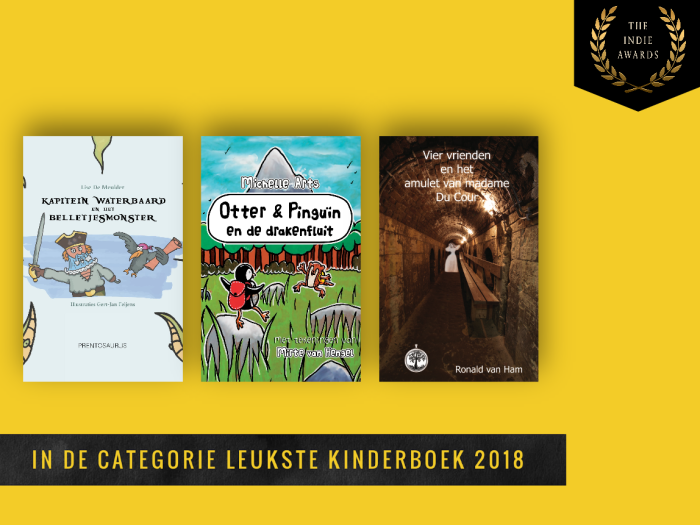 Shortlist Leukste Kinderboek 2018