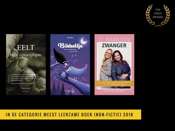 Shortlist Meest Leerzame Boek 2018
